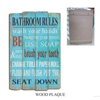 Buy cheap Wood Pallet Wall Sign Plaque Pallet Wood Wall Plaque Decorative Wood Sign Home Decor from wholesalers