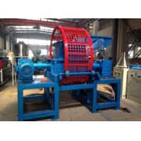 Buy cheap 22Rpm Rubber Shredding Machine / Rubber Recycling Machinery Eco Friendly from wholesalers