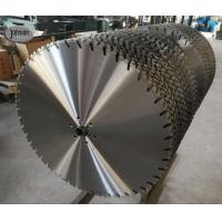 Buy cheap 800mm Laser Wall Saw Blades For Fast Cutting High Strength Reinforced Concrete product