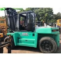 Buy cheap Mitsubishi FD120 Used Forklift Equipment 12T Used Forklift Diesel Engine from wholesalers