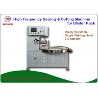 Buy cheap HF Welding Rotary Blister Packing Machine 27.12 MHz For Double Plastic Film Welding from wholesalers