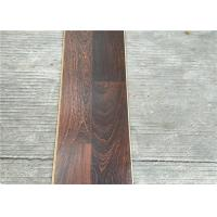 Buy cheap Dark Laminate flooring  3-strips with Double quick locking glueless floating Floors from wholesalers