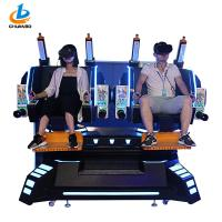 Buy cheap 42 Inches Virtual Cinema Machine 9d Vr Simulator Double Players 4 Dynamic Effects from wholesalers