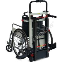 Wholesale Docking Car Handicapped Electric Stair Climbing Wheelchair In Black Color from china suppliers
