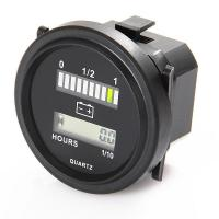 Wholesale Universal 12/24V, 36V, 48V and 72V Hour Meter and Battery Indicator from china suppliers