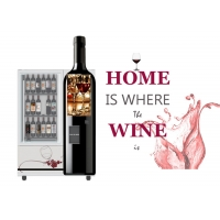 Buy cheap Smart Mini Fresh Salad Wine Glass Bottle Vending Machines With Lift And Conveyor System from wholesalers