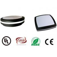 LED Bulkhead Light fitting 20W 6000K1600lm  Round Square IP65 wall mount lamp CE  SAA UL Manufactures