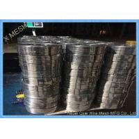 Buy cheap 2.25mm X 0.5mm Galvanized Binding Wire / Precision Copper Stitching Wire from wholesalers