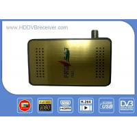 Buy cheap MINI HD DVB S2 Digital Satellite Receiver Automatic And Manual Channel Scan Option from wholesalers