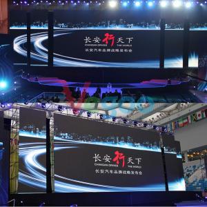 Lightweight P4 Rental LED Display commercial led screens 1R1G1B / SMD2121 Black lamp