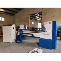 Buy cheap Big cast iron machine body CNC wood turning lathe for columns and bowels from wholesalers