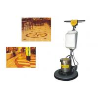 Iron Handle Tile / Hard Floor Cleaning Machines floor scrubber 450mm 1500W Manufactures