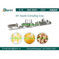 Buy cheap Double Screw Snack Extruder Machine , Automatic Pellet Food Production Line from wholesalers