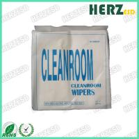 Buy cheap 1009S 1009D Clean Room Wipes / Lint Free Microfiber Cloth Weight 120g-180g from wholesalers