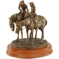 """Buy cheap Montana Silversmiths """"Two Trails Become One Road"""" Sculpture from wholesalers"""