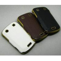 Buy cheap Luxurious Leather Case for Blackberry Bold 9900 Case Cover (B012) from wholesalers