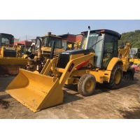 Buy cheap Yellow Used Cat 420f Backhoe Loader / Skid Steer Loader High Working Ability from wholesalers