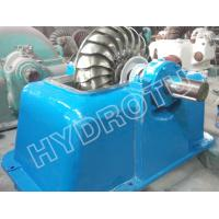 Buy cheap Small Impulse Turbine / Turgo Hydro Turbine With Stainless Steel Runner For Renewable Energy from wholesalers