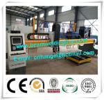 Buy cheap CNC Plasma Cutting Machine For Box Beam Production Line , Plasma Cutting Machine from wholesalers