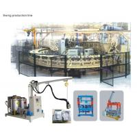 Buy cheap PU Shoes Production Carousel System/ turntable with High Pressure PU Foaming Machine from wholesalers