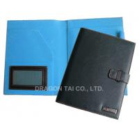 Buy cheap PU Portfolios with Pen Holder and memo pad, A4 PU Leather file Folder, from wholesalers
