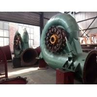 500KW vertical Small Francis hydro turbine , Hydro Power Generator Manufactures