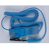 China PU Blue Antistatic Wrist Strap / ESD Wrist Strap with Cord on sale