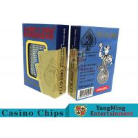Special Design Custom Plastic Playing Cards For Casino Games Dedicated