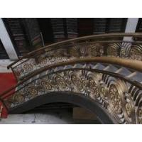 Wholesale bronze flower Balustrade Sculpture from china suppliers