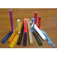 Buy cheap Bubble Colored Acrylic Rods And Tubes 30mm 40mm 50mm 60mm For Indoor Decoration from wholesalers