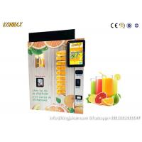Buy cheap Shopping Mall Commercial Orange Juice Vending Machine Coins And Notes Acceptors from wholesalers