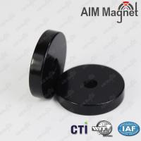 Buy cheap 25mm x 5mm plastic coated neodymium magnets from wholesalers