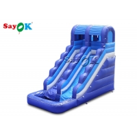 Buy cheap Home Commercail Amusement 6x3x5mH Inflatable Water Slide from wholesalers
