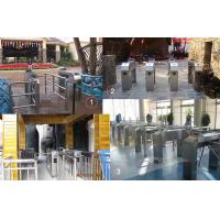 Stainless steel full automatical ticket machine barcode tripod turnstile for Spanish canime Manufactures