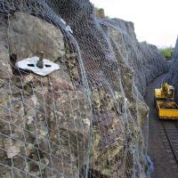 Buy cheap TECCO Mesh Rockfall Barrier Mesh / Slope Stabilisation from wholesalers