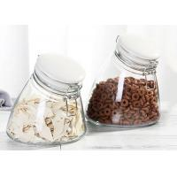 Wholesale Unique Candy Empty Glass Jars Food Storage Glass Jar With Airtight Ceramic Clip Lid 1000ml from china suppliers