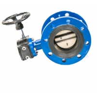 Buy cheap Double Flanged Concentric Butterfly Valve With EPDM Rubber Seat from wholesalers