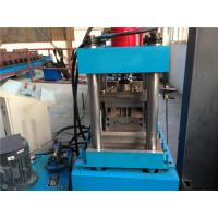 Buy cheap Singe Chain Driven Door Frame Roll Forming Machine For Door Shutter 5.5KW from wholesalers