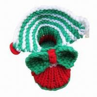 Buy cheap Hand Crocheted Baby Shoes, Customized Design are Welceoom from wholesalers