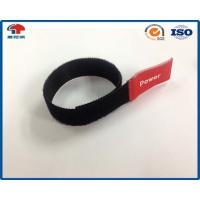 Buy cheap Marker Reusable Hook Loop Cable Ties Wrap 6 L Black , hook loop tape Cable Management from wholesalers