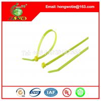 Buy cheap 5.9inch Length Adjustable Self-locking Nylon 66 Identification Cable Ties 1000 Pcs from wholesalers