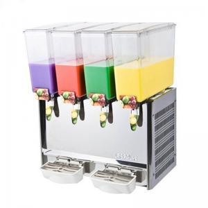 Wholesale 4 Tanks Electric Automatic Commercial Fruit Juice Dispenser Manufactures