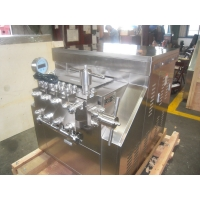 Buy cheap Small Scale Stainless Steel 500 L/H Milk Homogenizer Machine from wholesalers