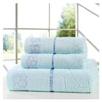 Buy cheap 3Pcs Set Towels 100% Cotton Beach Face Towel Set Printed for Adults Baby Bath Towel Set from wholesalers