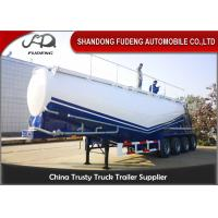 China 50-65 Cubic Meters W Shape  And  V Shape Bulk Cement Tank Trailer Selling on sale