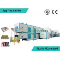 Buy cheap Biodegradable Recycled Paper Egg Tray Machine with 3000Pcs / H Capacity from wholesalers