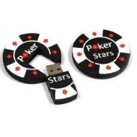 Buy cheap Poker Chip USB Flash Drive Memory Stick Pen Drive Disk from wholesalers