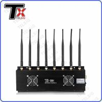 Buy cheap 8 Channel Signal Jamming Device , Anti GPS Tracking Cell Phone Blocker OEM / ODM Service from wholesalers