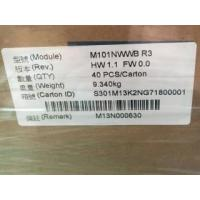 Buy cheap Transmissive  IVO LCD Panel 16.7M 45% Color M101NWWB R3 350 Cd/M²  Brightness from wholesalers