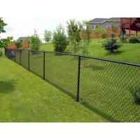 Buy cheap Diamond Pattern Chain Link Security Fence / Durable Hurricane Fence Panels from wholesalers